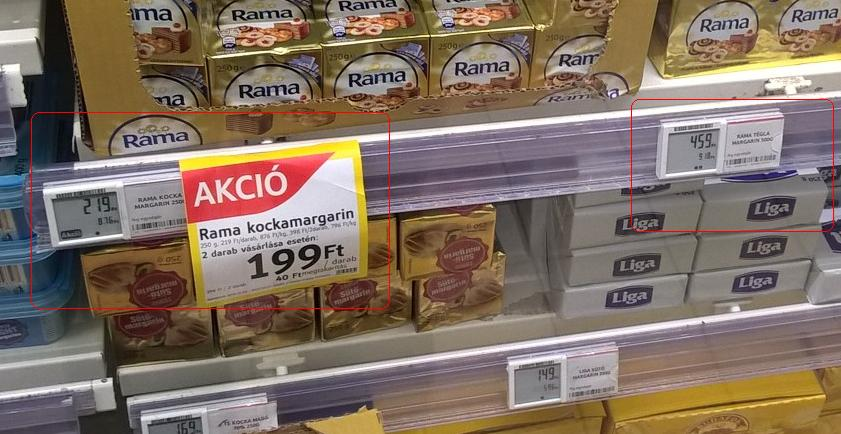 tesco rama margarin